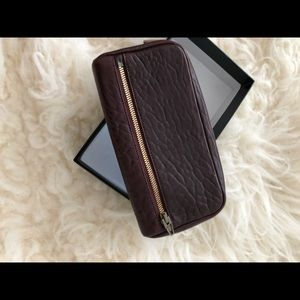 Alexander Wang Fumo Continental Wallet New